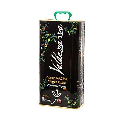 Lata de 5 L. de aceite de oliva virgen extra, producto de la Finca Valdezarza.