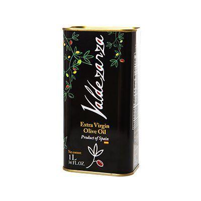Lata de 1 L. de aceite de oliva virgen extra, producto de la Finca Valdezarza.