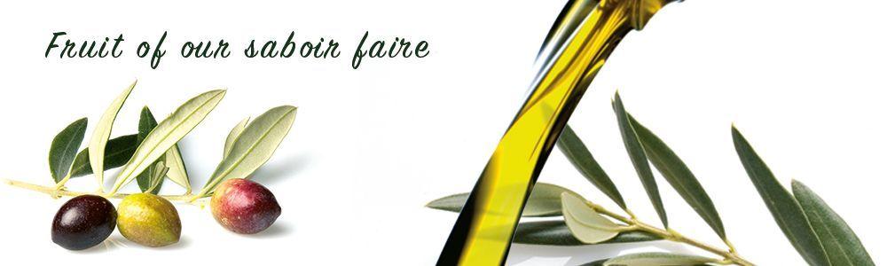 Fruit of our saboir faire, Valdezarza Oils