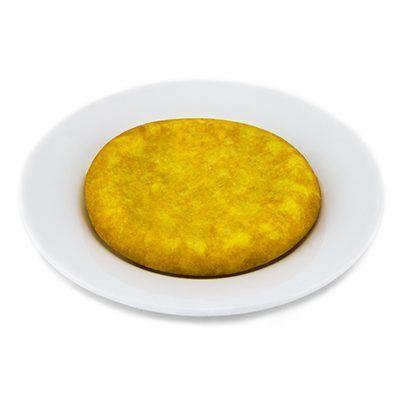 Tortilla Española, receta con Aceites Valdezarza.