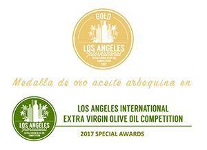 Premio Oro Valdezarza 2017 en aceite monovarietal arbequina.
