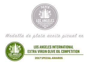 Premio Plata Valdezarza 2017 en aceite monovarietal picual.